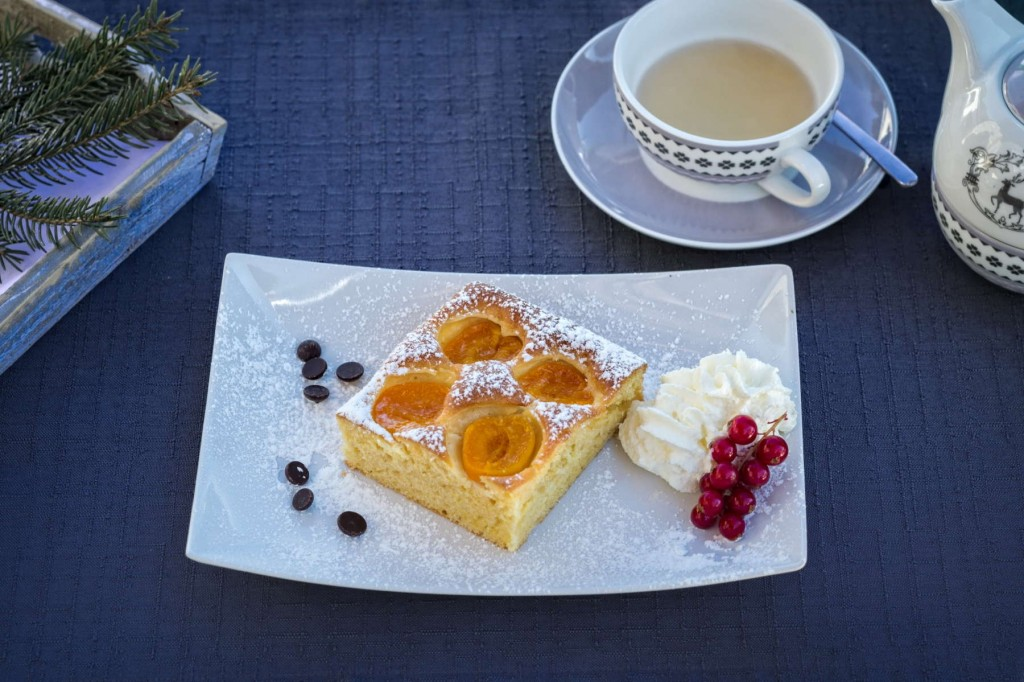 Mouth-watering desserts served at the Alpine Centre