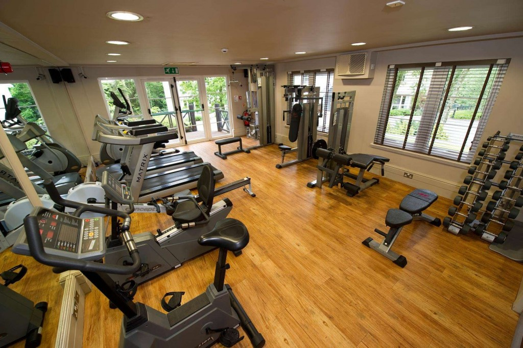 Up to date fitness equipment at Duchally Country Estate