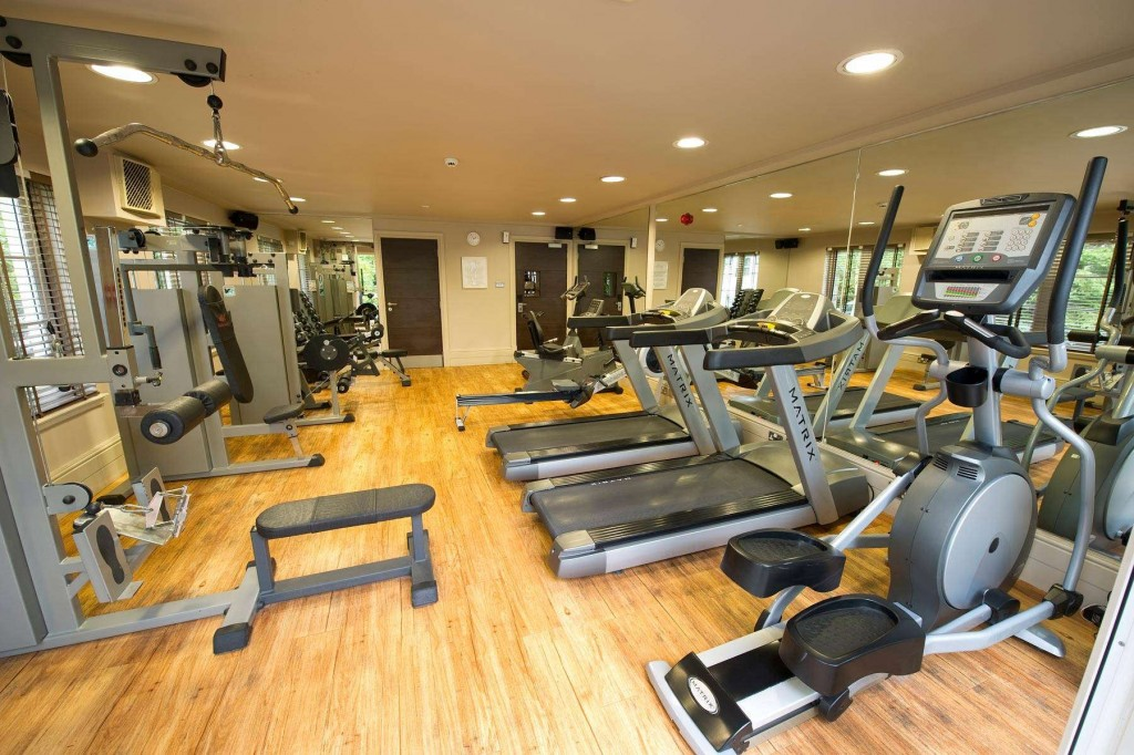 Modern and spacious fitness centre at the Duchally Country Estate