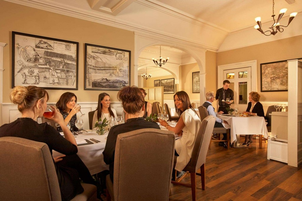 A great dining experience at Duchally Country Estate