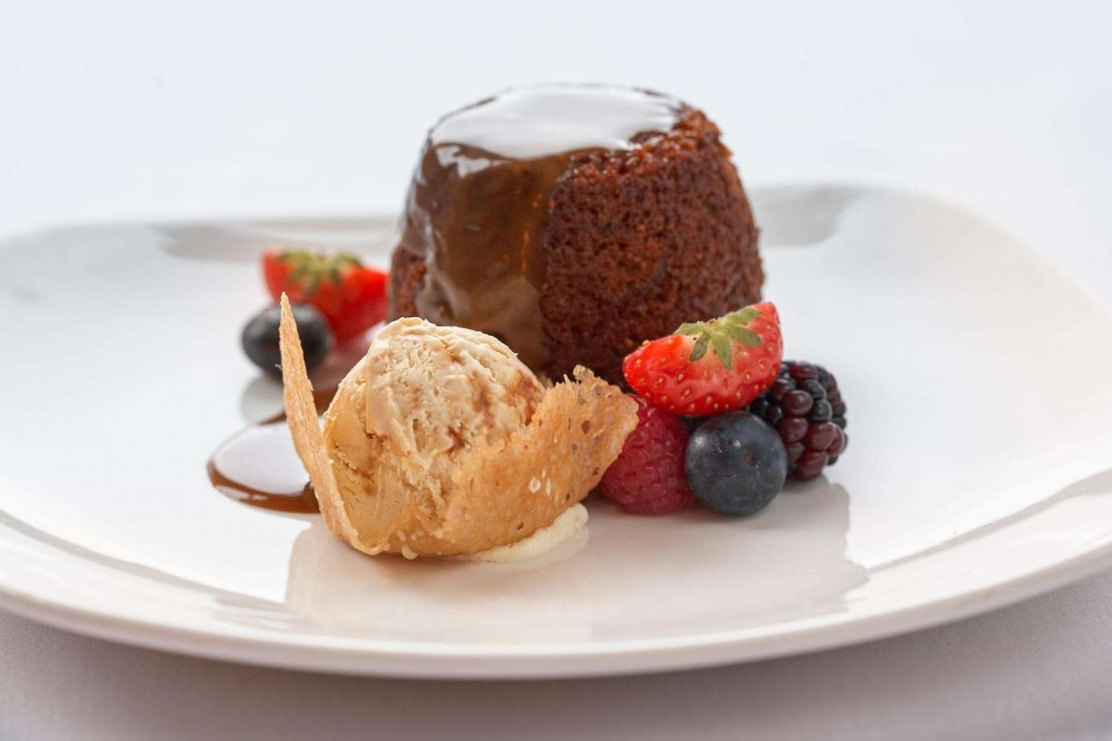 Heavenly desserts at Duchally Country Estate