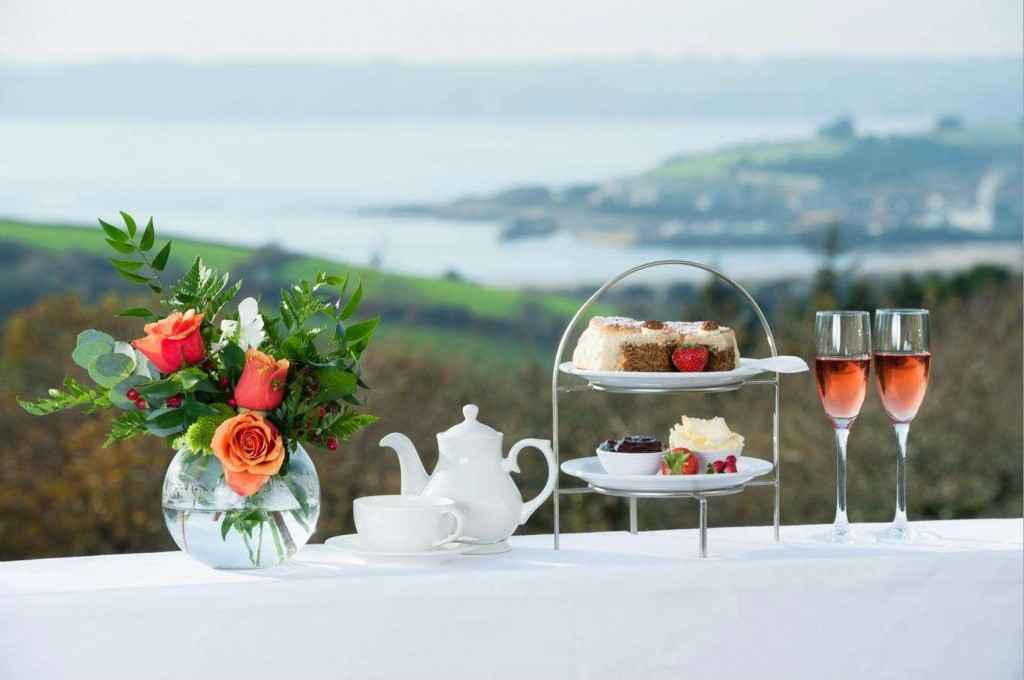 Delicious breakfasts every day at Trenython Manor