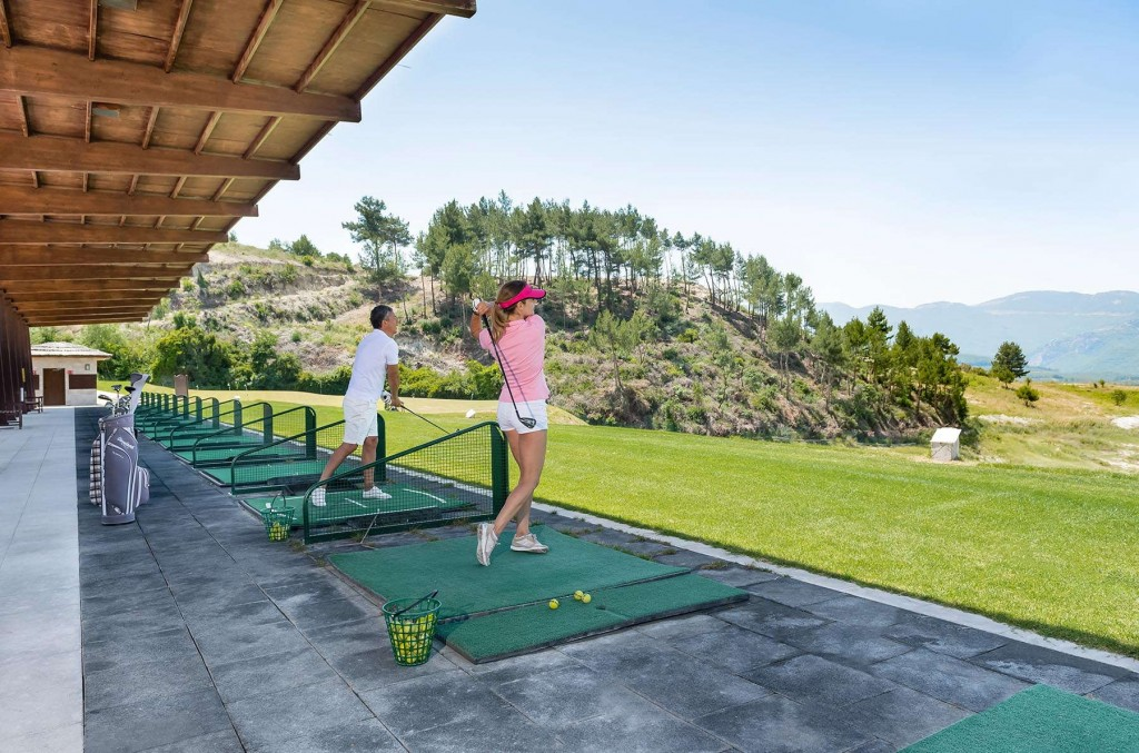 Practice your golf swing at the Kusadasi Golf & Spa golf course