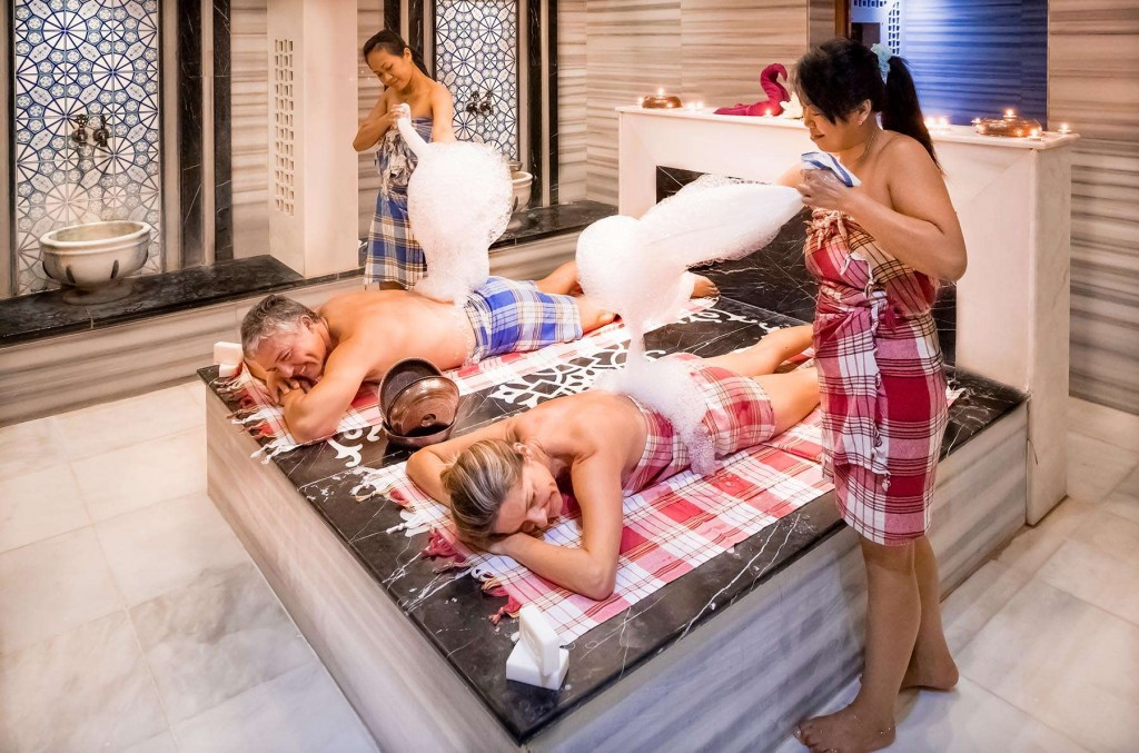 Fall in love with the Turkish massages offered at Kusadasi Golf & Spa