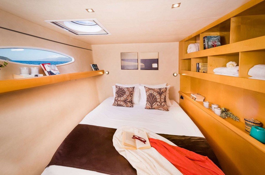 Warm inviting rooms for CLC Yacht guests