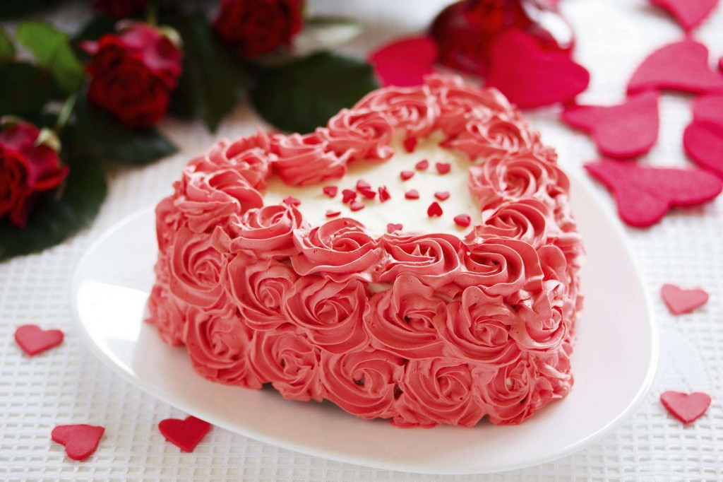 Mouth-watering cake